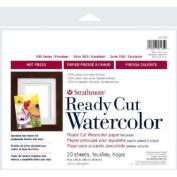 3 Pack 20cm x 25cm Hot Press Ready Cut Watercolour Sheet Pack (Product Catalogue