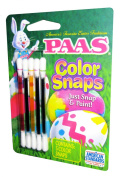 Paas Egg Colour Snaps, Just Snap and Paint, Spring Green, Red, Blue, Yellow and Purple