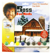 Bob Ross R6492 Paint by Number, Winter Barn
