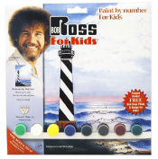 Bob Ross R6493 Paint by Number, Beacon by The Sea