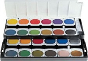 Pelikan Watercolour Set with 24 Colours - Opaque