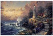 Plaid Thomas Kinkade Series Paint by Number Kit, 50cm by 41cm , Light of Peace