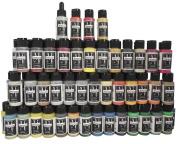 Badger Air-Brush Company Minitaire Colour Paint Set with Colour Coat/Paint Retarder