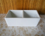 Two Well Brush Wash & Water Basin