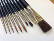 Model Painter brush set For Wargaming, Airfix, Foundry, Army Painter, Warhammer, model painting.