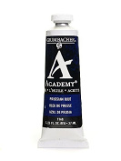 Grumbacher Academy Oil Colours Prussian blue 35ml [PACK OF 3 ]