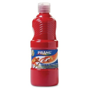 Wholesale CASE of 25 - Dixon Prang Ready-To-Use Liquid Tempera Paints-Tempera Paint, Ready to Use, Nontoxic, 470ml, Red