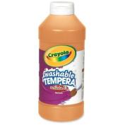 Wholesale CASE of 25. Artista II Tempera Paints-All-Purpose Artista Tempera Paint, Nontoxic, 470ml, Orange