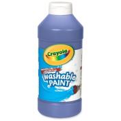 Wholesale CASE of 25. Washable Paints. Washable Paint, Squeeze Bottle, 470ml, Blue