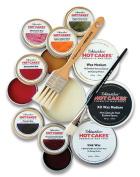 Encaustic Wax Paint Set- Glazing Hot Cakes Set