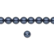 6mm Round. Night Blue Pearls (5810) Package of 50
