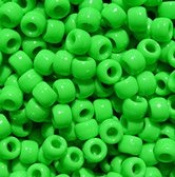 JOLLY STORE Crafts Lime Pony Beads 9x6mm 500pc