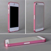 Ultra-thin 0.7mm Aluminium Metal Blade Bumper Frame Case fr Apple iPhone 5 5G Pink