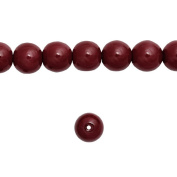 1 Strand Bordeaux Red Glass Pearl Spacer Round Loose Beads Fit Necklace Bracelets Wholesale 6x6x6mm 150pcs GP0002-12