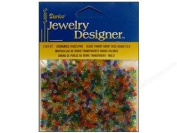 10/0 Transparent Seed Beads, 20 Gramme, Multi Mix