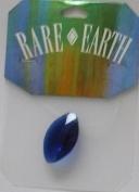 1 pc - 30x17mm Marquis Blue - Rare Earth - 33006-03