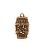Wine Barrel Charm