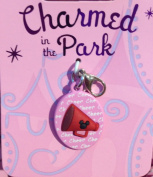 Disney Parks Charmed in the Park Minnie Mouse Cheer Charm Lobster Claw NEW
