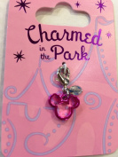 Disney Parks Charmed in the Park Mickey Mouse Pink Outline Charm Lobster Claw NEW