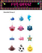 Funweevz Single Loop Charms for Funweevz and Loom Bracelets Group 4