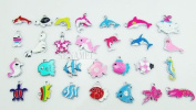 Sea Animals Mixed Lot Charms - Lot of 15 - DIY Jewellery Crafting 8mm