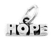 Sterling Silver Small Hope Talking Charm