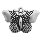 Gift Boxed Sterling Silver Butterfly Charm Garden Jewellery