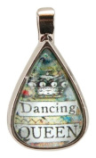 Santa Barbara Design Studio Teardrop Shaped Jewellery Charm by Artist Sally Jean