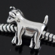 Loving Goat .925 Sterling Silver charm Fits Pandora, Biagi, Troll, Chamilla and Many Other European Charm #EC513