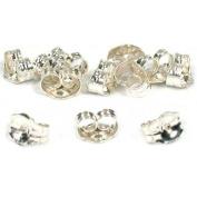 12 Sterling Silver Earring Backs Jewellery Findings