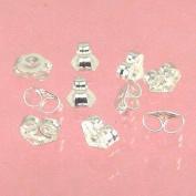 Sterling Silver 5mm Earring Backs