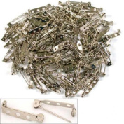 144 Bar Pins for Hats & Brooches Jewellery Crafts Pin Backs