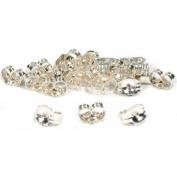24 Sterling Silver Earring Backs Jewellery Findings