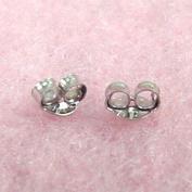 Jewellery Finding - 14K White Gold Small Earring Backs