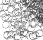 95 Round 11mm 17 Gauge Stainless Steel Jump Rings Connectors Made in the USA Used in Fishing Lure, Jewellery and Key Ring Assembly