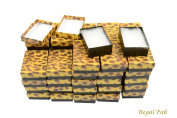 Regal Pak ® 50-Piece Leopard Print Cotton Filled Box 8.3cm x 5.7cm x 2.5cm H