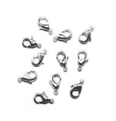Lobster Clasp DuroPlateTM 99.9% pure Silver 9mm