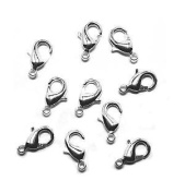 Lobster Clasp DuroPlateTM 99.9% pure Silver 11mm