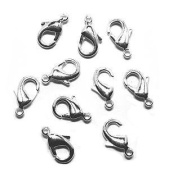 Lobster Clasp DuroPlateTM 99.9% pure Silver 13mm
