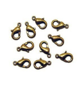 Lobster Clasp DuroPlateTM 24 kt. Russian Gold 9mm