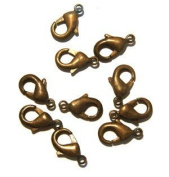 Lobster Clasp DuroPlateTM Chocolate 13mm