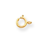 18K Gold Spring Ring Clasp 8Y1702