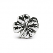 Novobeads Four-Leaf Clover Sterling Silver Clasp - Made in USA w imported materials - Fits all major bead bracelets