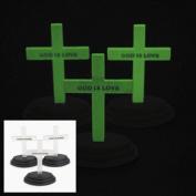 12 Glow-In-The-Dark Crosses