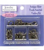 Jewellery Fundamentals Antique Silver Finding Kit