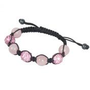 SHAMBALA Jewellery Making Kit, Pink and Rose Quartz