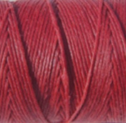 Waxed irish Linen-Country Red. Sold per 10 yards of 4-ply