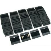 Earring Display Hang Cards Black Flocked 5.1cm X 5.1cm