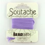 Beadsmith Soutache Braided Cord 3mm Wide - Lavendar