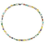 Evil Eye Necklace - Multi Coloured
